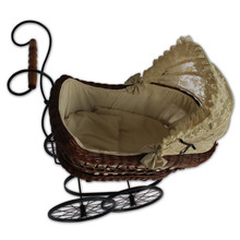 Hot Sale Newborn Baby Studio Photography Props Classical Style Upscale Toy Doll Stroller Trolley