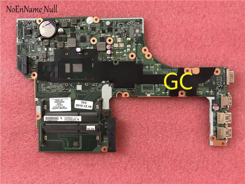 830929-501 DA0X63MB6H1 For HP ProBook 450 G3 Notebook PC Motherboard With 4405U 830929-001 830929-601 Motherboard  100% Tested