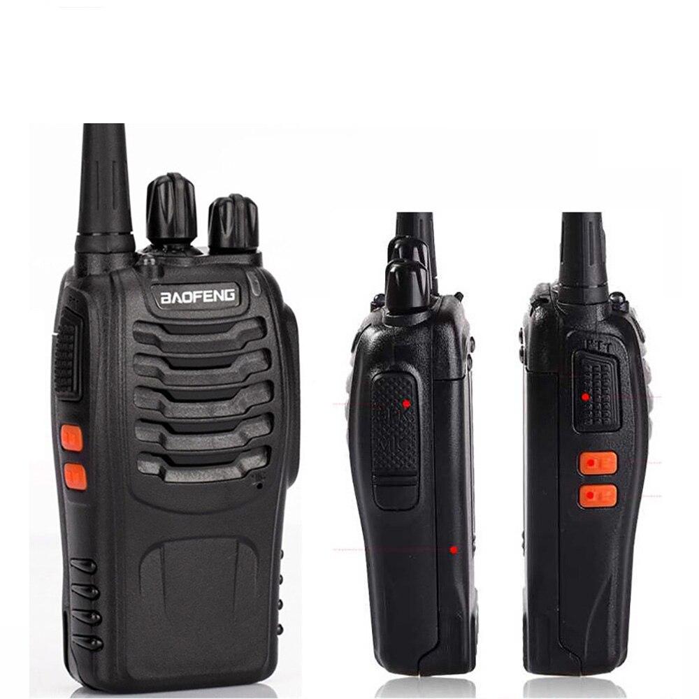 BF-888S 2 pièces Mini Talkie Walkie Sans Fil Civile Étanche Portable Auto-conduite Tour Hôtel Tourie Sécurité talkie-walkie