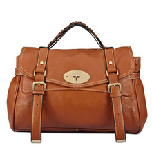 2016 Vintage Casual Genuine Leather Handbag Women Shoulder Messenger Bag Purse Large Hand Bag High Quality