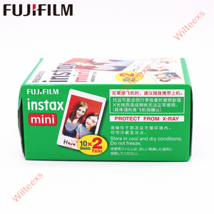 Image 4 - Fuji Fujifilm Instax Mini 8 Film Blanc 2 Packs 40 Vellen Film Voor Mini 11 7 7S 8 9 90 25 55 Delen SP 1 Instant Camera