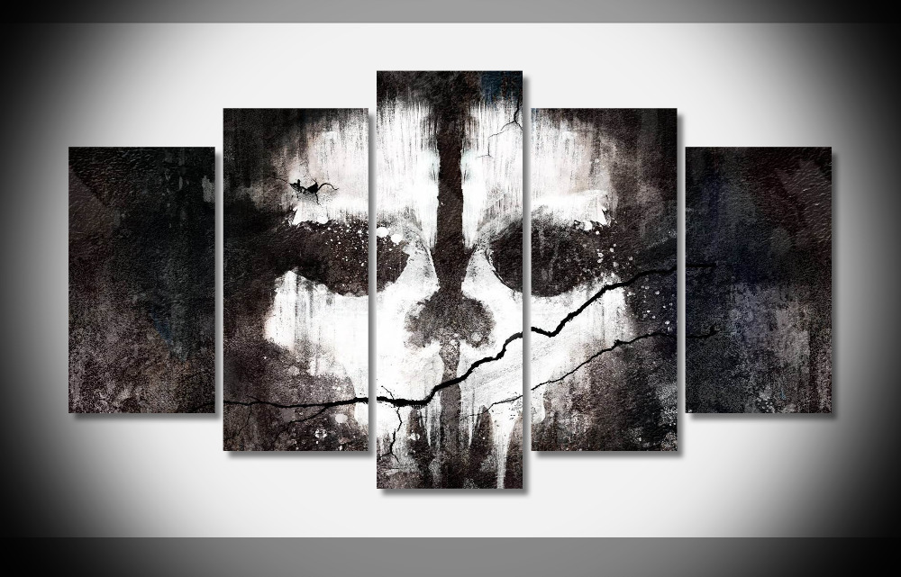 8145 Call of Duty game poster Framed Gallery wrap art print home wall decor wall picture Already to hang digital print