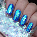 Chunky Hexágono Mylar Ice Flakes Nail Art Glitter Festival Dance Party