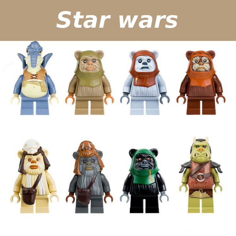 4.5CM Single Sale legoing Star Wars Mini Compact Various Characters Building Blocks Toys starwars legoings figures PG8067