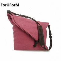 2015 Canvas Genuine Leather Men Messenger Bags Vintage Crossbody Bags For Women Casual Men S Travel