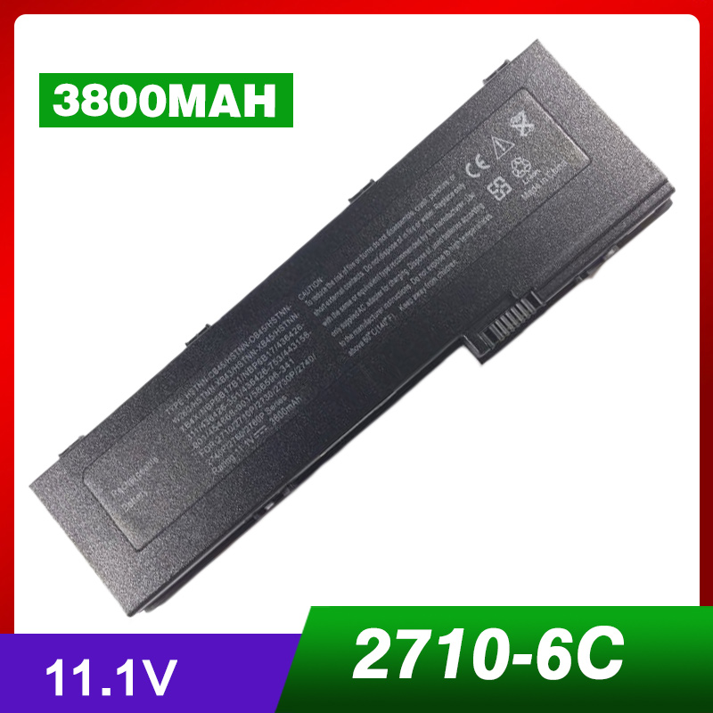3800mAh Laptop Battery for HP EliteBook 2730p 2740p 2740w 2760p 2740p 2760p Tablet PC HSTNN-XB4X NBP6B17B1 OT06XL HSTNN-XB43 new a 12 1 for hp elitebook 2540p 2740p 2730p laptop lcd screen display pannel wxga 1280 800 ltn121at08 b121ew09