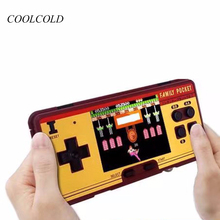 Mini Handheld Game Players Построено в 638 Classic Games Console 8 бит Retro TV Video Game для FC Classic Red White Game Console
