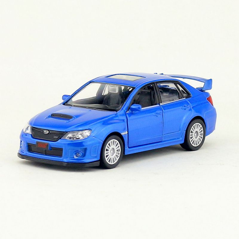 High Simulation Exquisite Diecasts & Toy Vehicles: RMZ City Car Styling Subaru Impreza 1:36 Alloy Diecast Car Model Toy Car