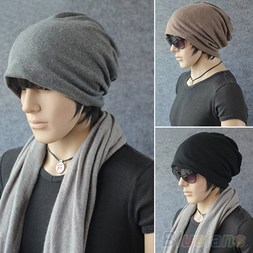 2016 Top Quality Women Men Scarf Fashion Slouch Winter Knit Scarf Hip Hop  Cap Beanie Hat Crochet 1T92 7EN4 7MQD-in Skullies   Beanies from Apparel ... e6c35c1a553
