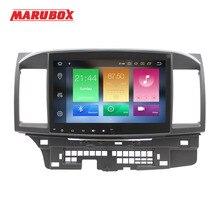 """MARUBOX ヘッドユニット 1Din 4 グラム RAM 10 """"アンドロイド 9.0 三菱ランサー 2006 2015 ステレオラジオ GPS ナビ車のマルチメディアプレーヤー 716PX5"""