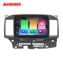 "Marubox Head Unit 1Din 4G Ram 10 ""9.0 untuk Mitsubishi Lancer 2006-2015 Stereo Radio GPS navi Mobil Multimedia Player 716PX5(China)"