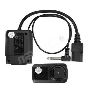 Image 4 - Godox DM 04 disparador de Flash de estudio inalámbrico para Canon, Nikon, Pentax, Olympus, Samsung, 4 canales, AC Power, Sync Speed 1/200s