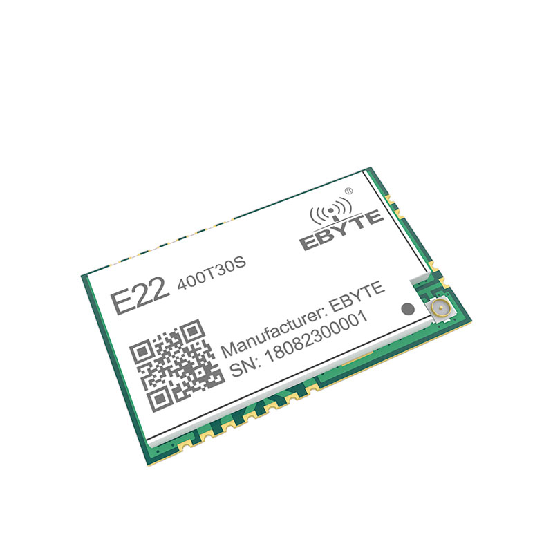 Image 3 - SX1268 LoRa TCXO 433MHz 30dBm E22 400T30S SMD UART Wireless Transceiver  IPEX Stamp Hole 1W Long Range Transmitter and Receiver-in Fixed Wireless Terminals from Cellphones & Telecommunications