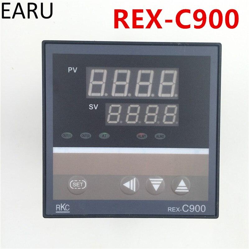 Livraison Gratuite RKC PID Contrôleur de Température REX-C900 Entrée Universelle Multi-entrée SSR Relais Sortie 96*96mm Thermostat régulière