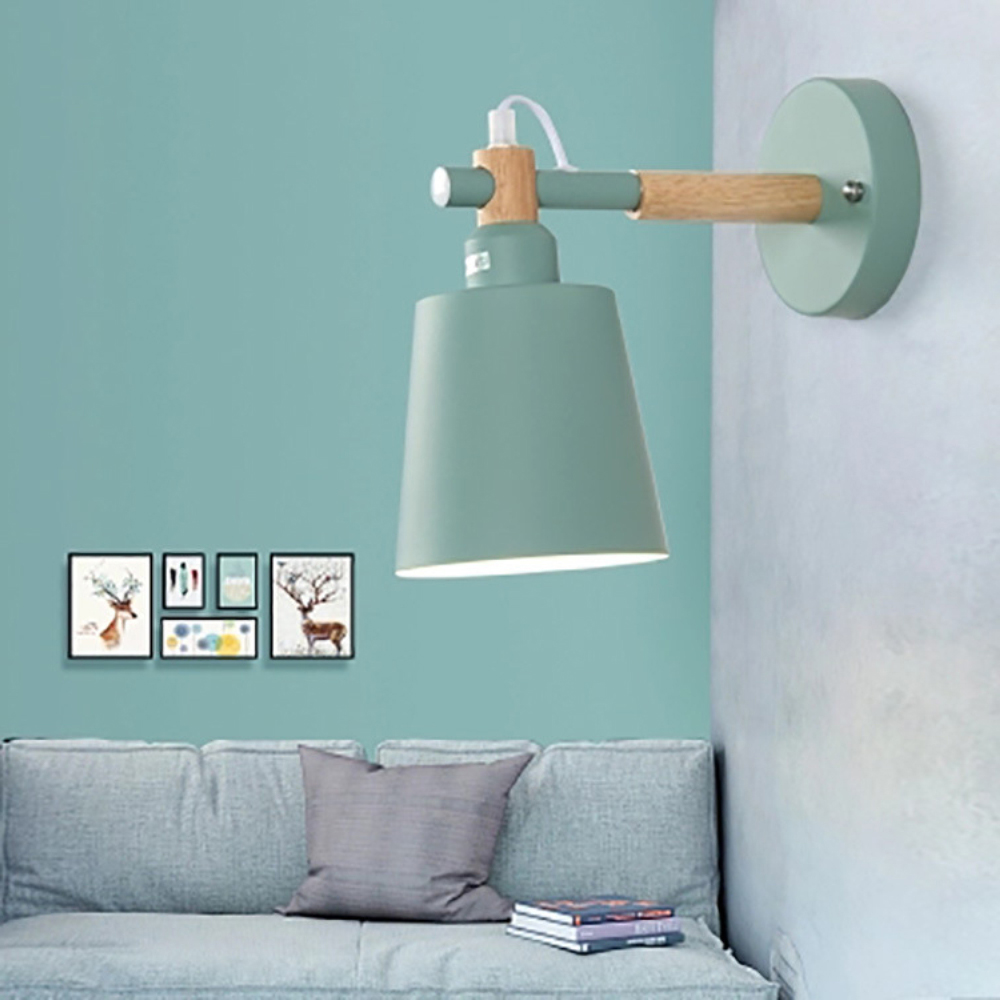 E27 Multi Wall Lamps Lights for Led Bedroom Bedside Decoration Nordic Designer Living Room Wall Lamps Holtel Corridor 6 ColorE27 Multi Wall Lamps Lights for Led Bedroom Bedside Decoration Nordic Designer Living Room Wall Lamps Holtel Corridor 6 Color