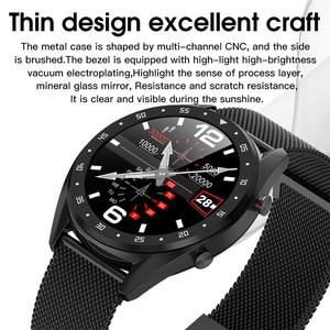 Image 3 - ASKMEER L7 IP68 防水スマート腕時計メンズスポーツスマートウォッチ ECG + PPG 心拍数血圧モニター腕時計 Ios アンドロイド