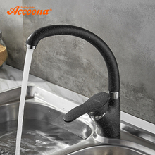 Faucet-Spray Kitchen-Sink-Faucets Tap-Crane Rotation Hot-Water-Mixer Accoona Single-Handle