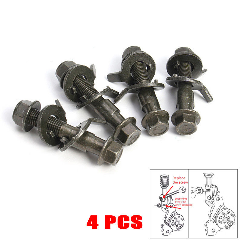 Civic RSX Front+Rear Adjustable Alignment Camber Arm Toe Bolts Kit