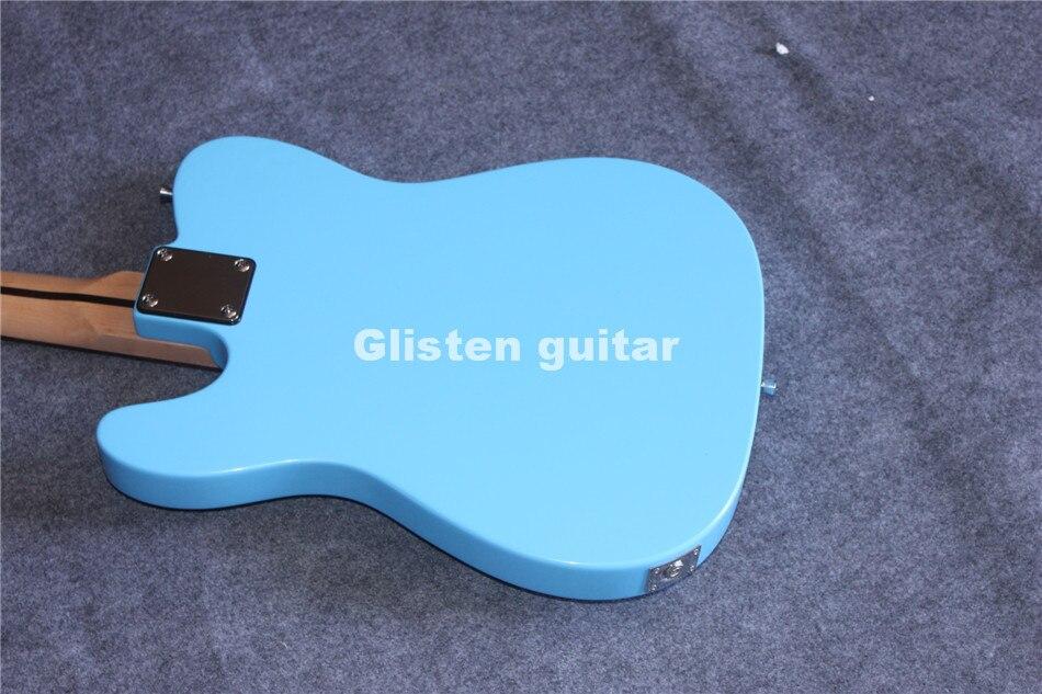 Nouveauté guitare électrique bleue, livraison gratuite - 5