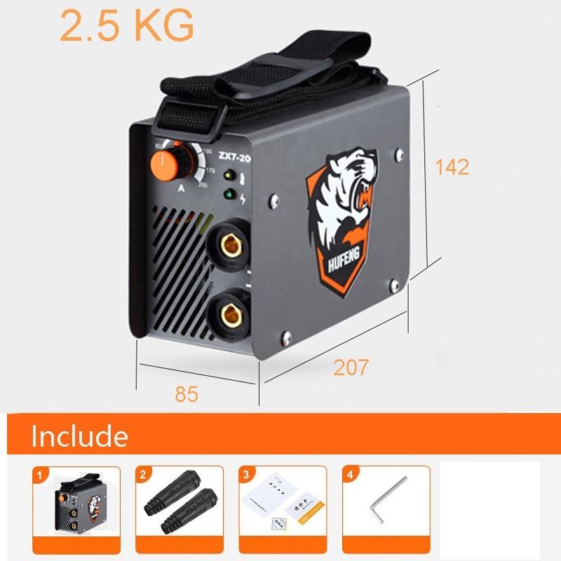 Portable Mini MMA Welder AC 220V Arc Electric Welding Machine 10 200A DIY Welding Rod 2
