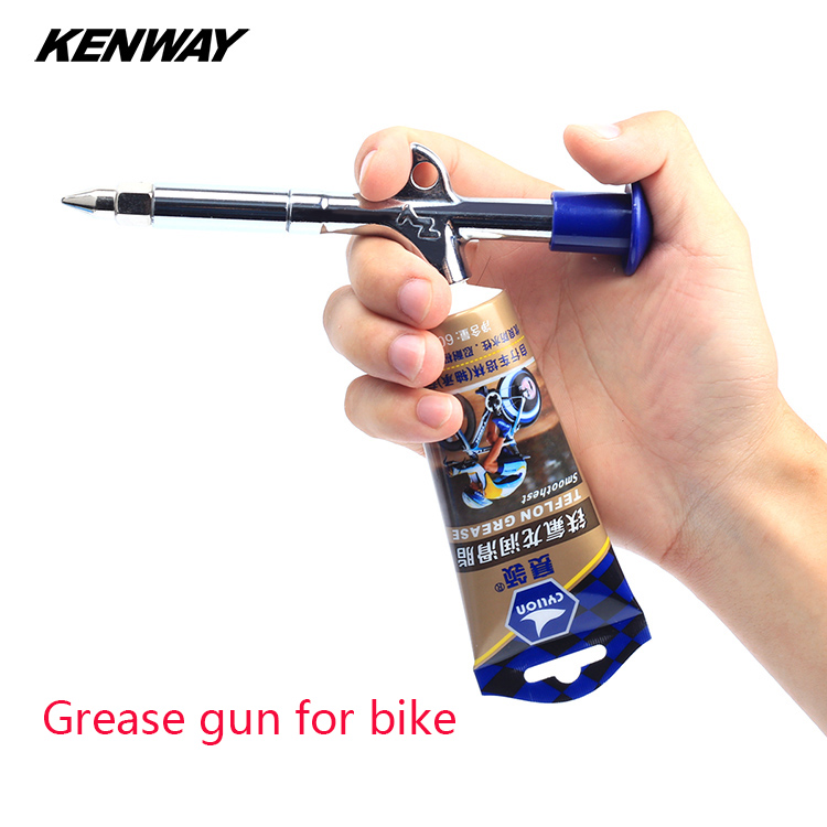 Bicycle grease gun mountain bike Bearing hub axis grease lubricating oil gun