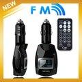 1.4 ''LCD Giratória Car MP3 Player Transmissor FM Sem Fio USB Disk SD TF MMC com Controle Remoto Três cores opcional