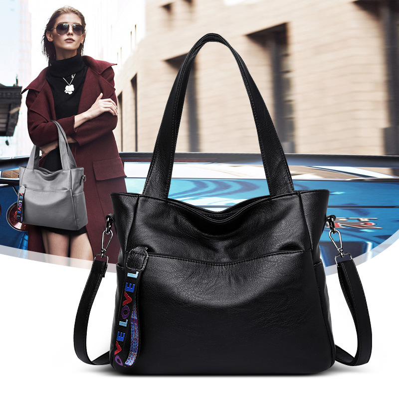 Large Capacity Women Handbags Luxury Designer 2018 Brand Leather Female Tote Bags for Women Shoulder Crossbody Bags Sac Femme in Shoulder Bags from Luggage Bags