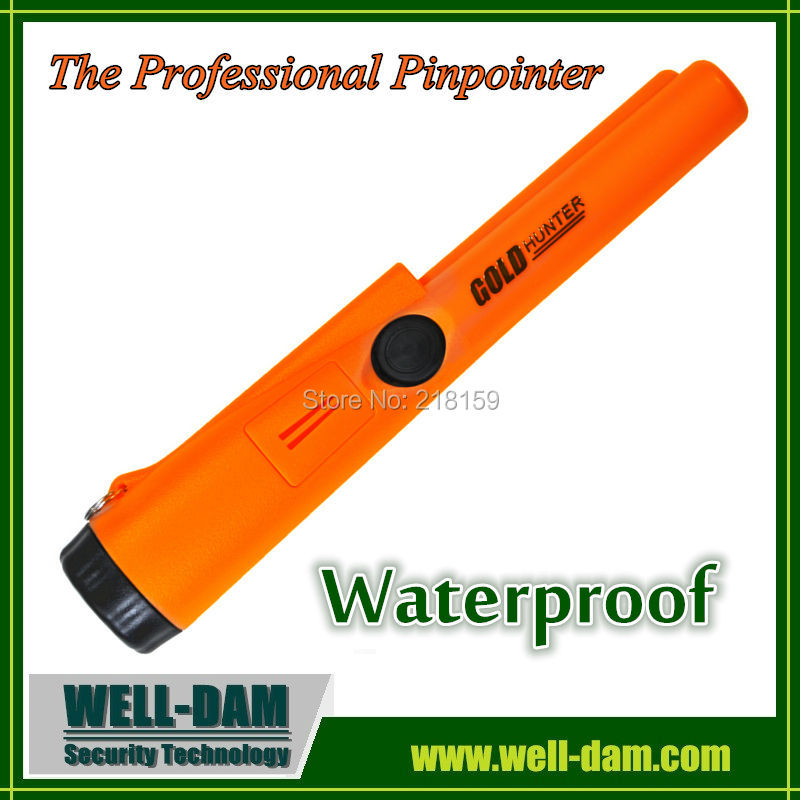 Gold detector machine Gold Hunter Pro Pointer AT Pinpointer Waterproof ProPointer treasure detector free shipping 2pcs waterproof gold detector gold hunter at propointer orange color