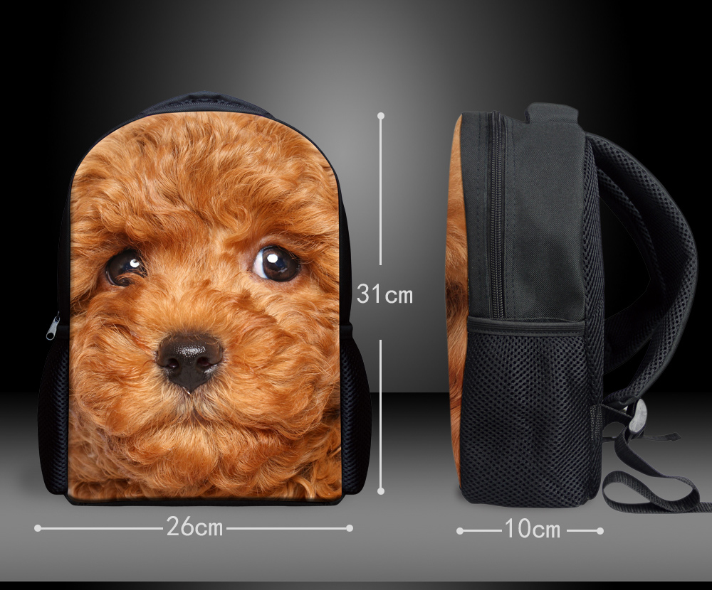 e6d093da6af US $14.69 30% OFF|Pit Bull Dog Kids Boys and Girls School Backpack Bags  Wolf Printing Child Schoolbags Small Fashion Backpacks Baby Travel Bags-in  ...