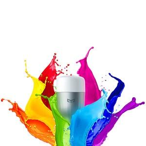 Image 5 - New In Stock Original Yeelight Blue II LED Smart Bulb ( Color )E27 9W 600 Lumens Light Smart Phone WiFi Remote Control