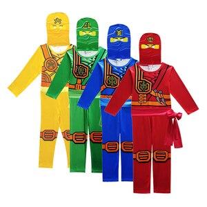 Image 2 - Ninjago PARTY เครื่องแต่งกายเสื้อผ้า Superhero คอสเพลย์เครื่องแต่งกายนินจาสาวฮาโลวีนชุดเครื่องแต่งกายเด็กชุดสำหรับชาย