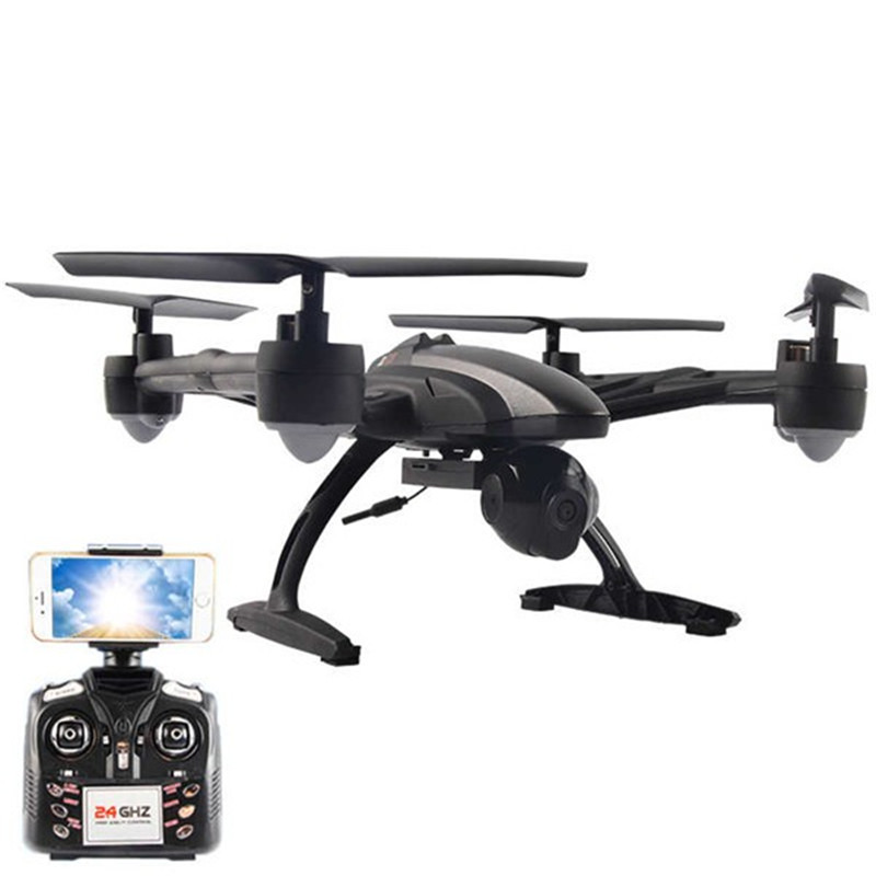 JXD 509W WiFi FPV With 720P Camera Headless Mode High Hold Mode 2.4GHZ 4CH 6-Axle RC Quadcopter RTF Mode 2 jxd 509w wifi fpv rc quadcopter rtf 2 4ghz with camera headless mode one key return christmas gift jxd 509 wifi version