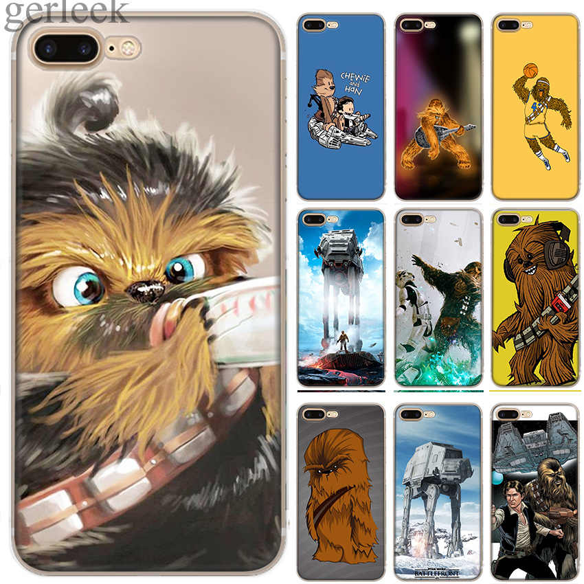 Caso Phon Cover Star Wars Chewbacca Para iPhone 5 11 Pro 5S SE 6 6S 7 8 Plus X casos Max XR XS