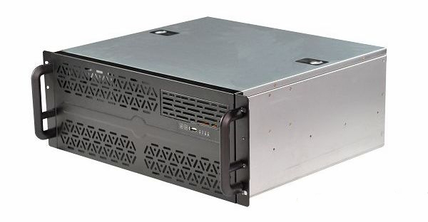 D4390 4U390MM long chassis for KTV monitoring equipment short 4U industrial control server 4u20 bit hot pluggable expansion cabinet 4320 is widely used in nas hd ktv short server industrial control chassis