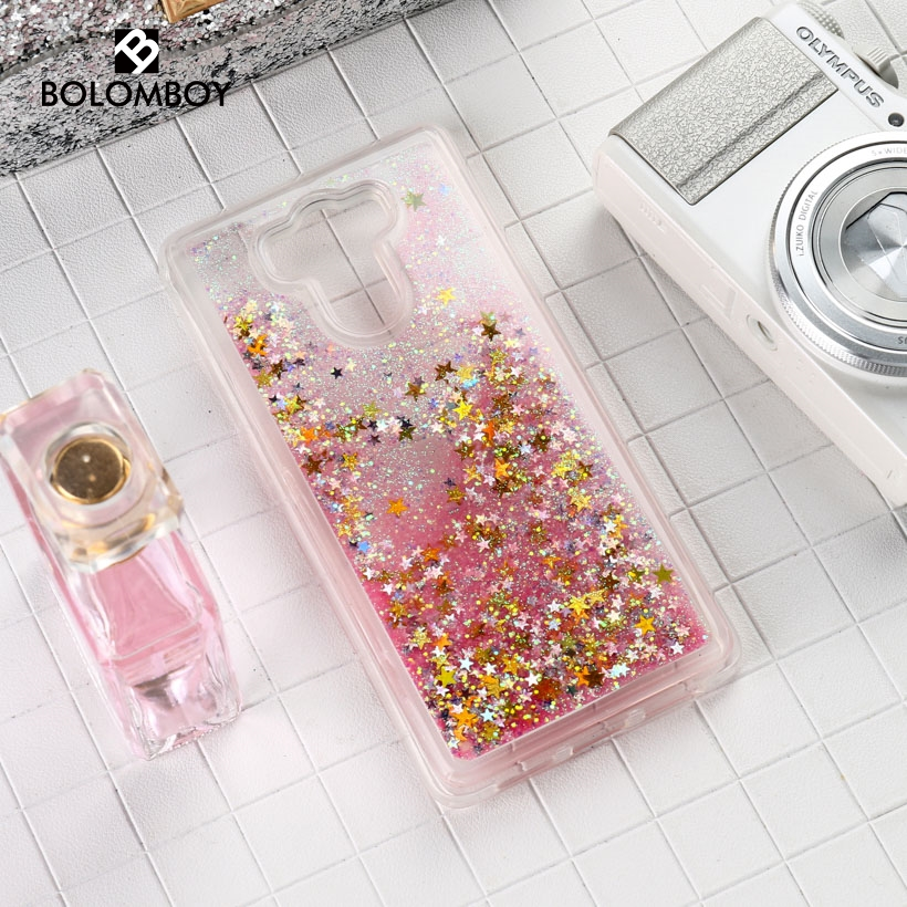 Glitter Stars Liquid Quicksand Case For <font><b>Xiaomi</b></font> Redmi 4 Case For <font><b>Xiaomi</b></font> Redmi <font><b>Mi</b></font> <font><b>Max</b></font> <font><b>2</b></font> <font><b>Max</b></font> 3 Note 3 Pro 4 4X 5A <font><b>Mi</b></font> A1 5X 5s Cases image