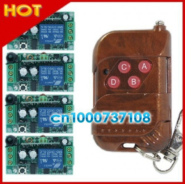 DC12V 1CH RF latch receiver with jumper automation home controller rf remote control switch 315mhz/433.93mhz receiver board dc12v remote control switch rf control toggle latch 8ch receiver transmitter kits free shipping