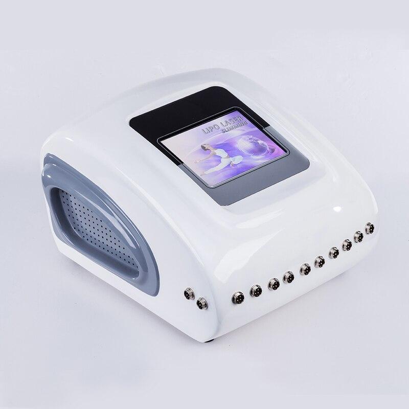 2019 14 almofadas máquina de emagrecimento de laser de diodo, lipo a laser 650 máquina para venda