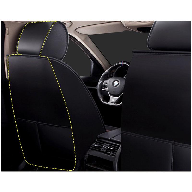Ajuste cubiertas de asiento de coche Audi Q5 Negro Set Completo De Cuero