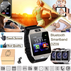 Image 5 - Bluetooth Smart Uhr Smartwatch DZ09 Android Anruf Relogio 2G GSM SIM TF Karte Kamera für iPhone Samsung Android PK GT08 A1