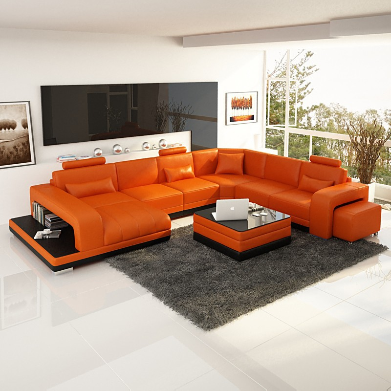 Living Room Sectiona Sofa Set F3017-in Living Room Sofas