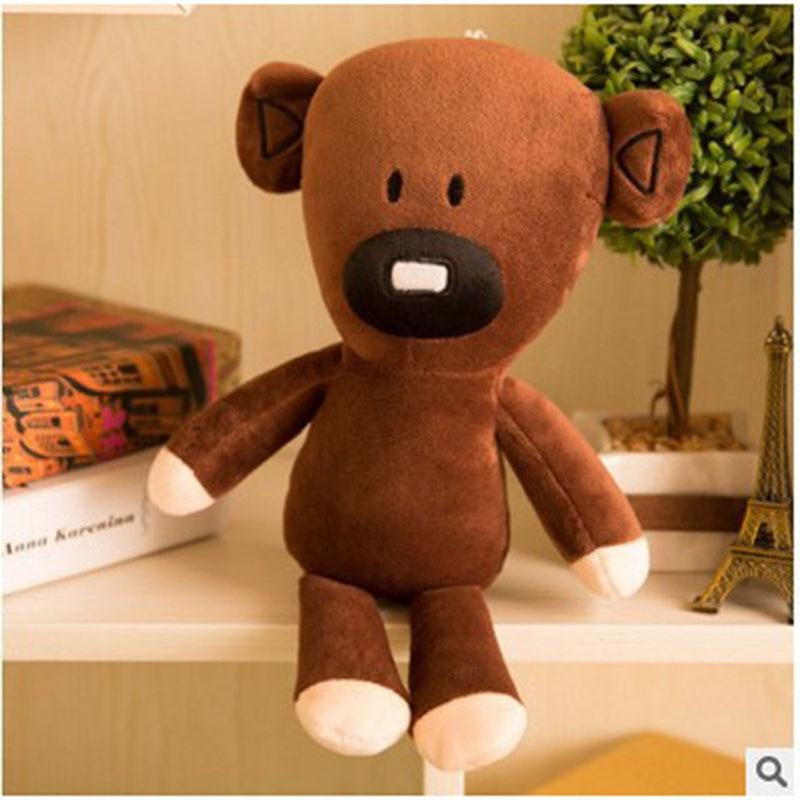 30cm-Mr-Bean-Teddy-Bear-Cute-Kawaii-Plush-stuffed-Toys-Mr-Bean-Toys-For-Children-Birthday