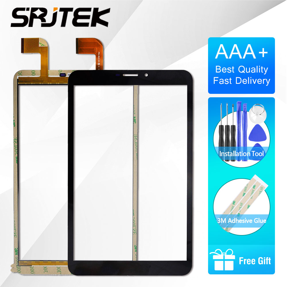 SRJTEK 8 Touch For Voyo X7 3g Version FPCA-80A15-V01 Tablet Touch Screen Panel Digitizer Glass Senor Repair Replacement Parts high quality tablet touch for asus 170 touch screen digitizer replacement repair panel