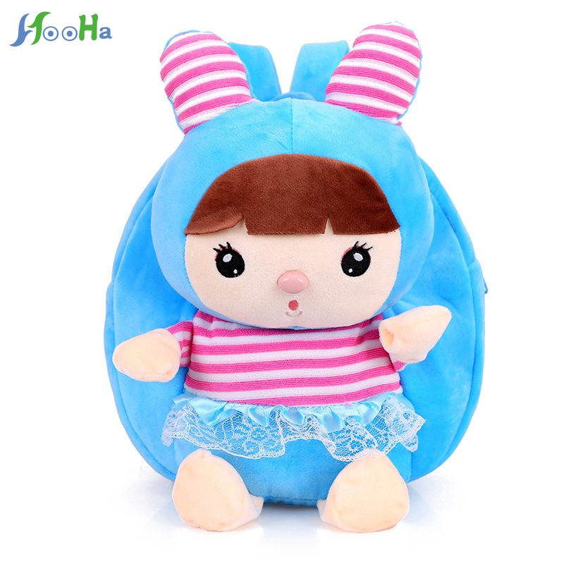 Cute Baby Plush Backpack Kids Mini Monkey School Bag Childrens Gift Kindergarten Boy Girl Student Cartoon Lovely Animals Bags Luggage & Bags