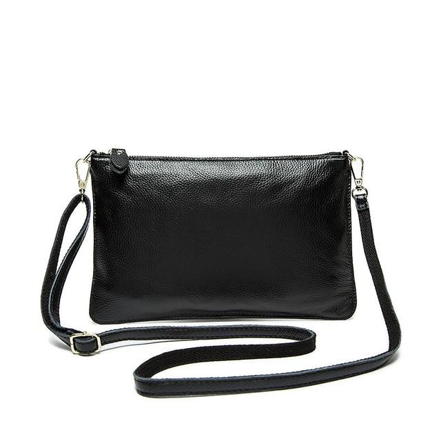 118b3c06e525 fashion women handbag small genuine leather shoulder bag girls rear leather  crossbody bag female purse cowhide messenger bag