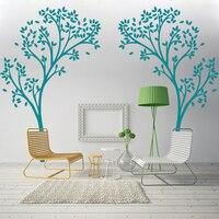 A12 Tree Canopy Portal Wall Decal Tree Wall Sticker Vinyl Nursery Home Decor Wall Graphic Home Art Living room Decoration