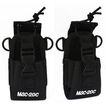 2016 HYS Walkie talkie Baofeng Two Way Radio Pouch Case Holster MSC-20C For BF-666S/777S/888S GP338+/328+ GP344 HT750