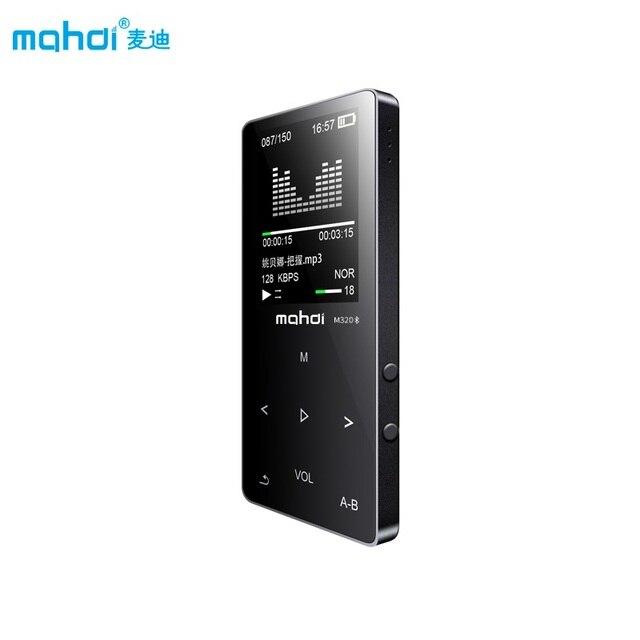 Bluetooth Mp4 Player 8gb FM Radio Digital MP3 MP4 Speaker Touch Video Mini  Lossless Voice Recorder Music Player Multi Language