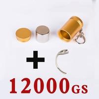 12000GS Universal magnetic Key detacher eas stop lock tag remover eas tag lockpick unlocker handheld remover for AM alarm tag
