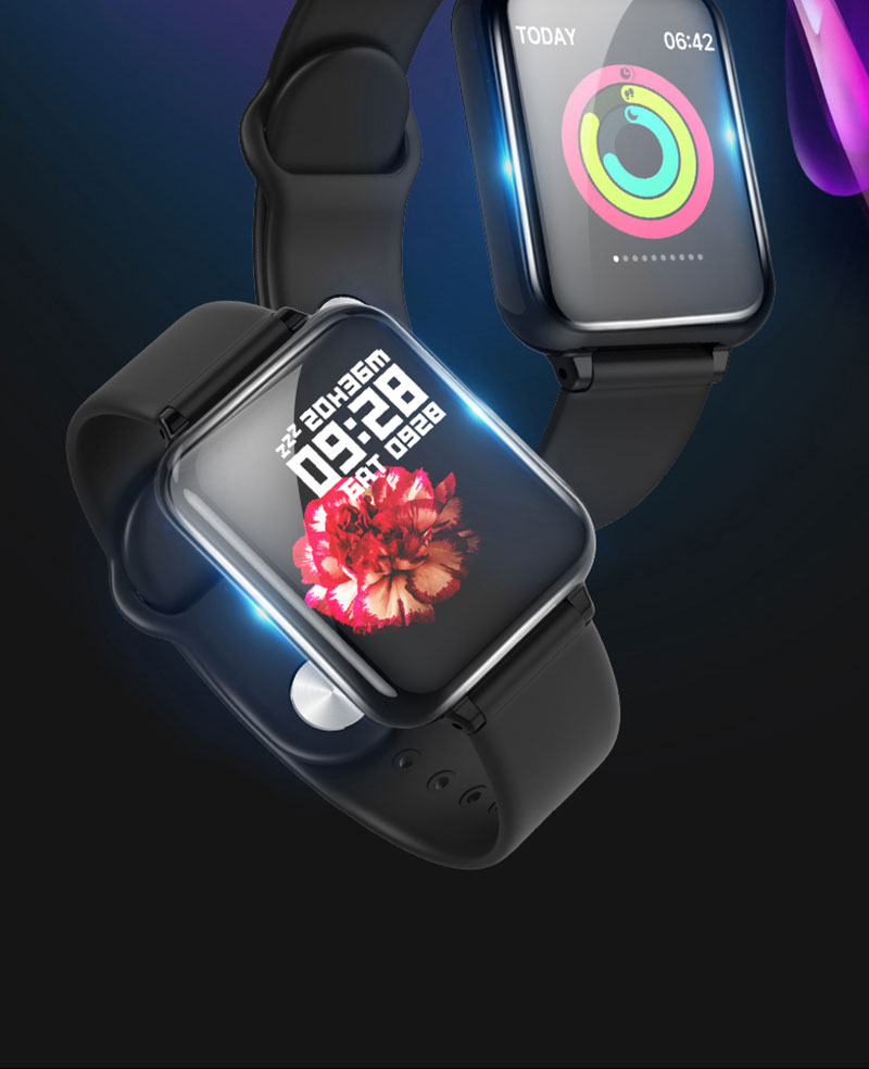 VERYFiTEK AW4 Smart Watch Fitness Bracelet Watch Blood Pressure Oxygen Heart Rate Monitor IP67 Men Women Sport Smartwatch (2)