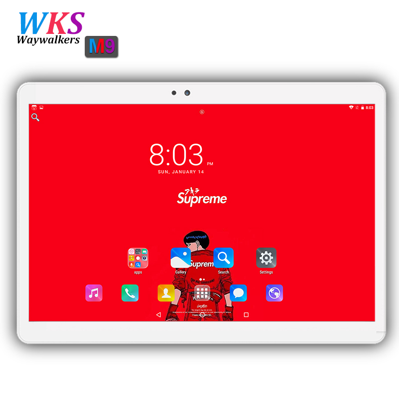 2018 newest 10 tablet pc Android 7.0 Octa Core 32/64GB ROM 4GB RAM Dual SIM WIFI GPS Bluetooth GPS 1920*1200 tablets pcs 10.1 10 waywalkers 10 inch tablet pc android 7 0 octa core ram 4gb rom 32 64gb 1920 1200 ips dual sim wifi bluetooth gps tablets phone